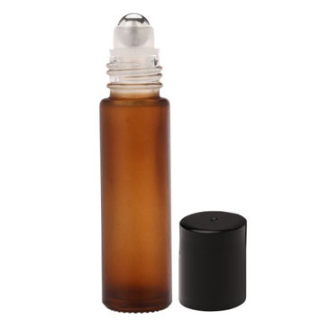 10-ml Amber Glass Roll On Bottles