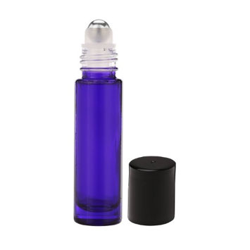 10-ml Violet Glass Roll On Bottles