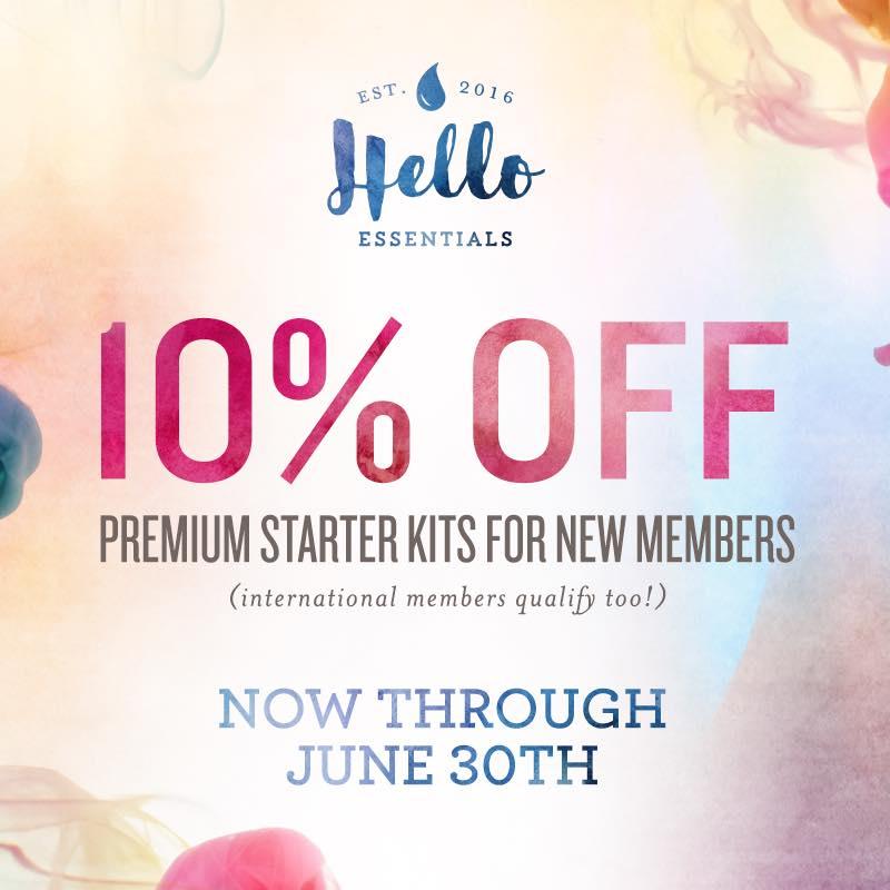 10% off Premium Starter Kits