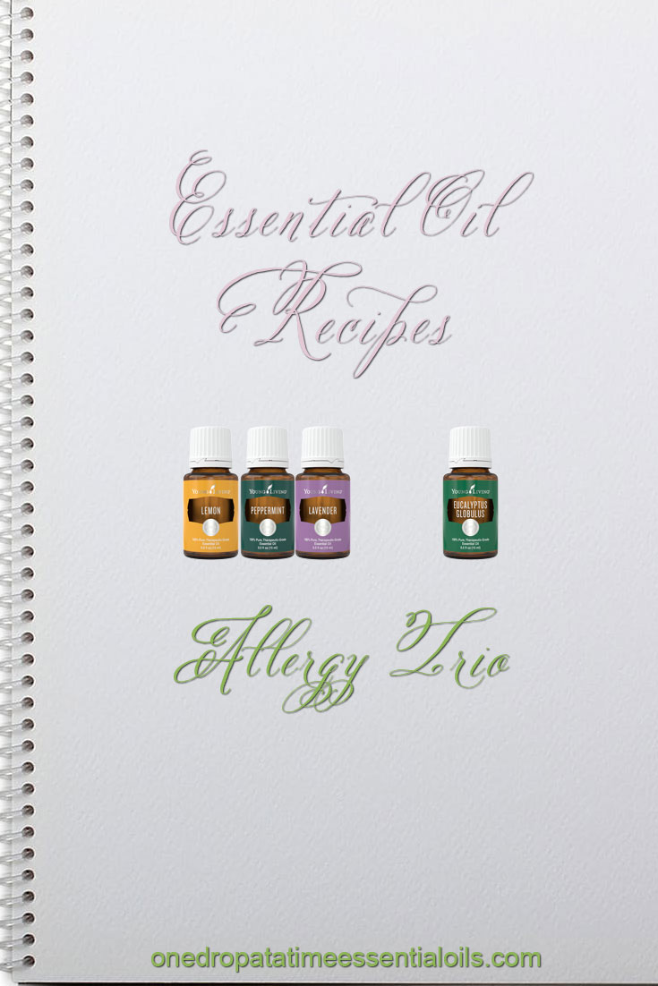 Essential Oil Allergy Trio Recipe