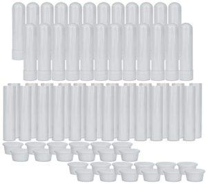 Empty Nasal Inhaler Tubes