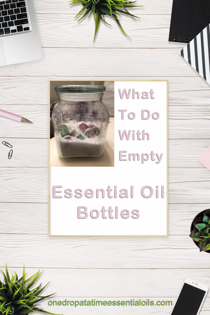 What to do with Empty Essential Oils Bottles