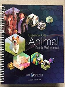 Essential Oils Animal Desk Reference  - Spiral Bound
