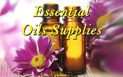 Essential Oils Supplies