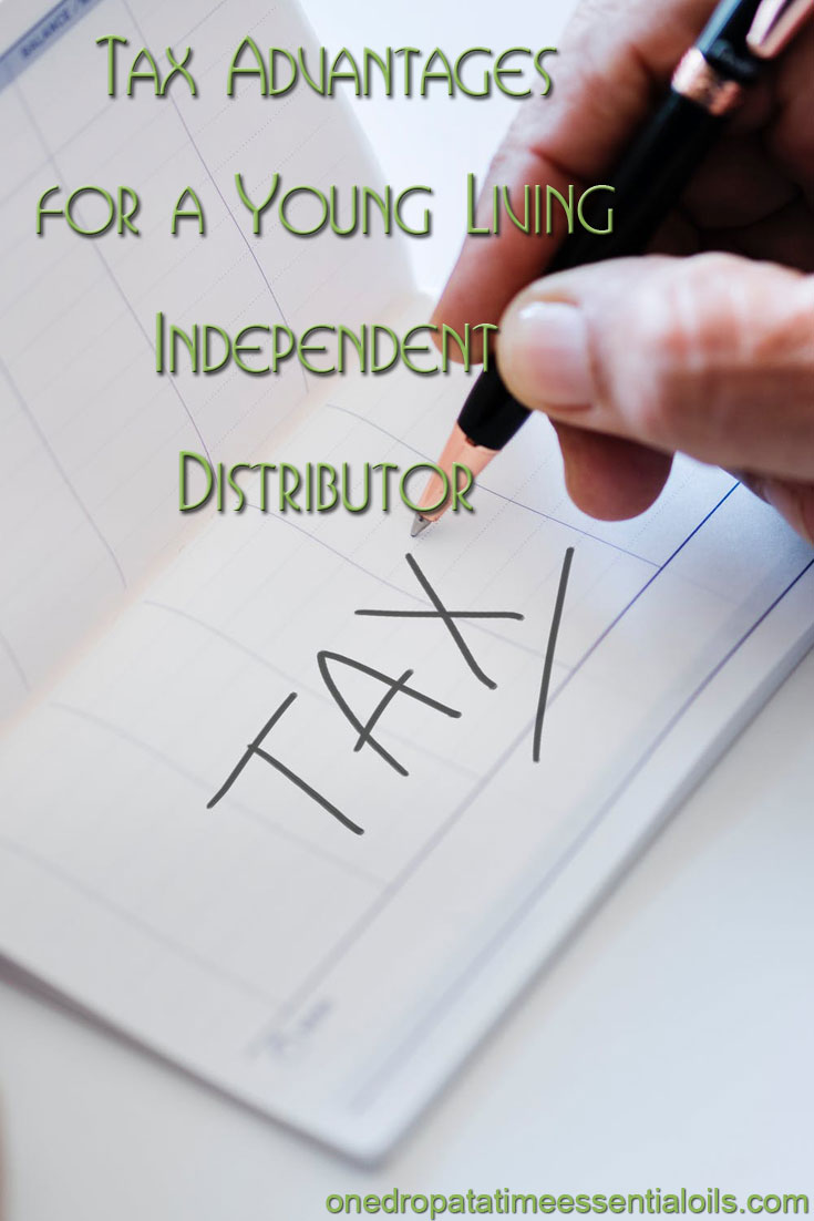 ax Advantages for a Young Living Independent  Distributor