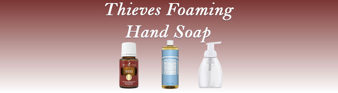 Thieves Foaming Hand Soap Recipe