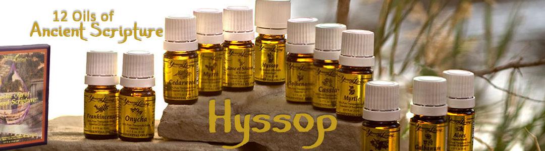 Twelve Oils of Ancient Scripture - Hyssop Essential Oil