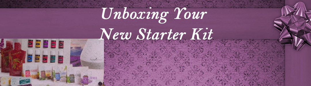 Unboxing Your New Starter Kit