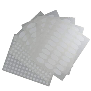 Waterproof Essential Oil Labels 135 oval, 462 round stickers 8 sheets