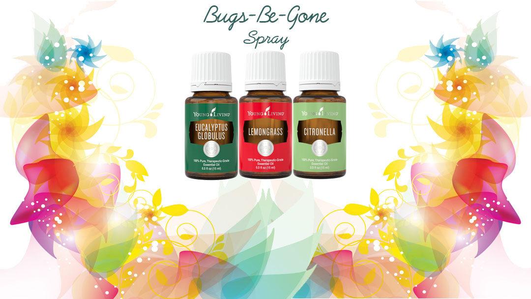 Bugs-Be-Gone Essential Oils Recipe