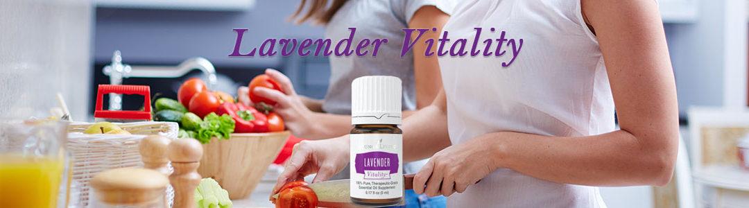 Lavender Vitality Essential Oil