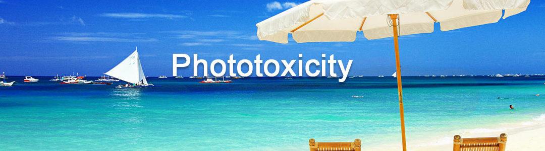 Phototoxicity