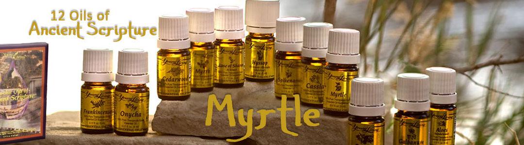 Twelve Oils of Ancient Scripture - Myrtle Essential Oil